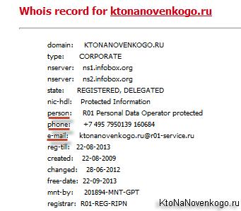 Виды доменов