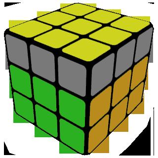 Как собрать третий слой кубика рубика