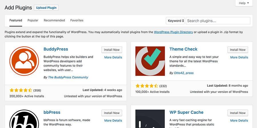 Wordpress как установить