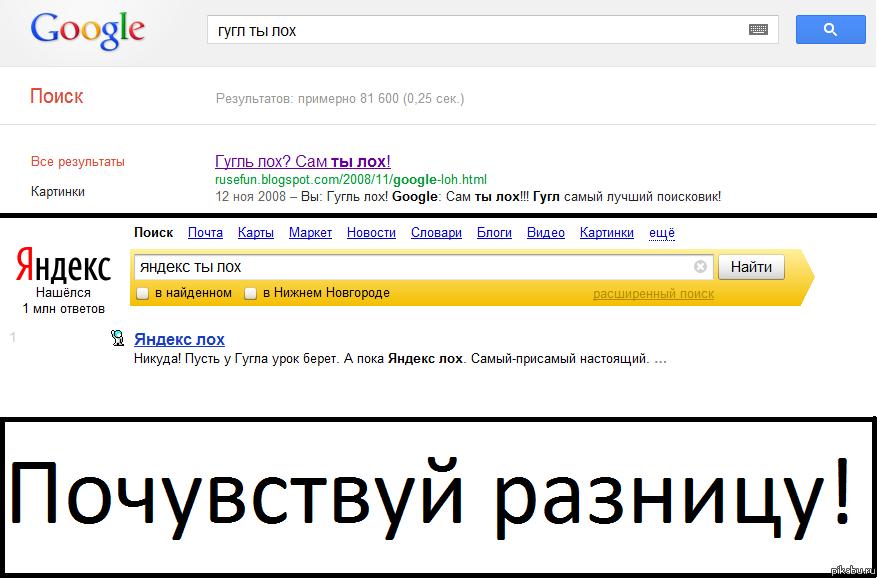 Гугл говно