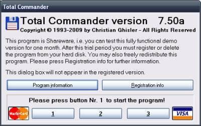 Total commander как зарегистрировать