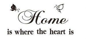 home is where the heart is essay on quote