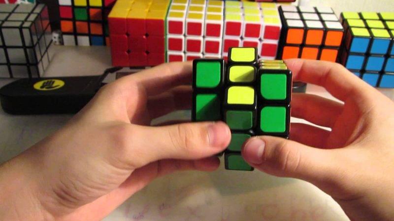 Принцип собирания кубика рубика