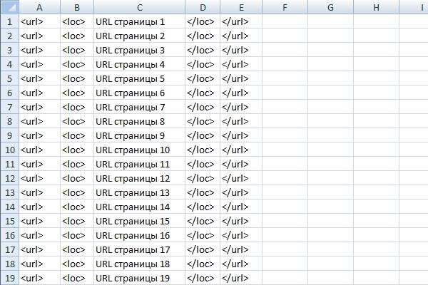 Как сделать sitemap