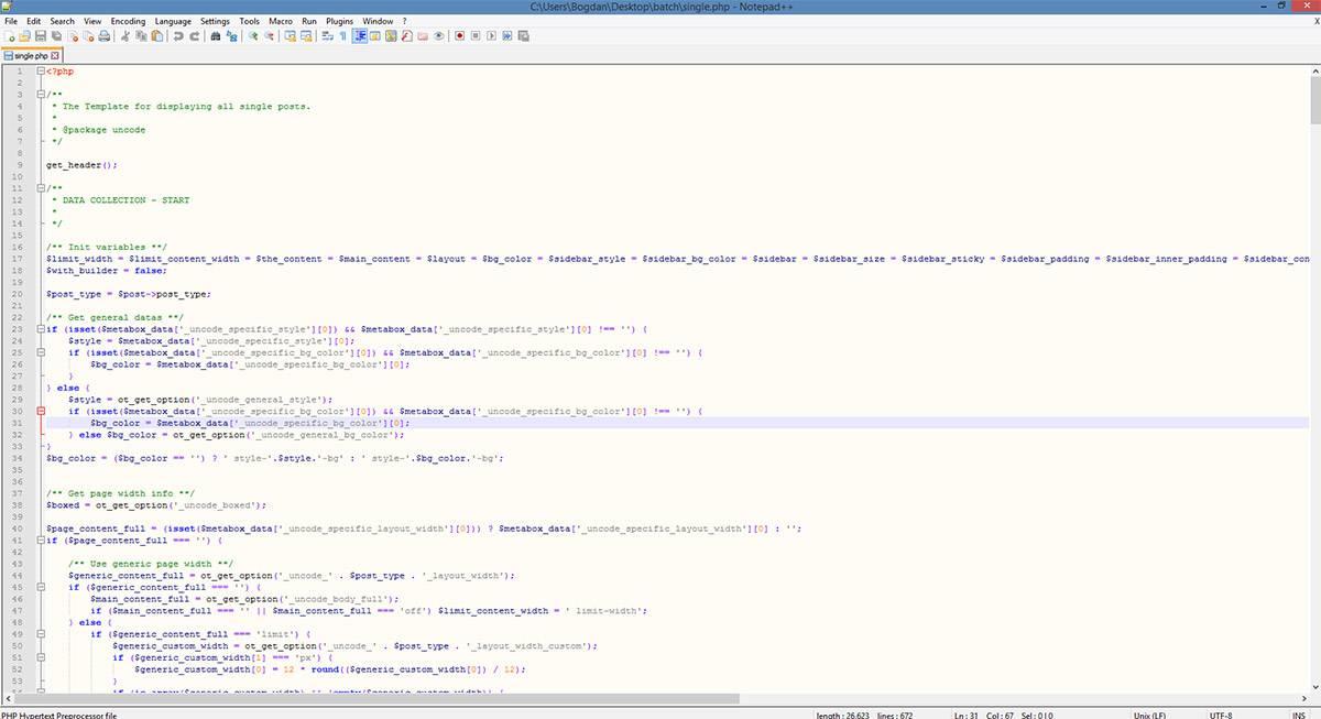 Code editor — Seoblog