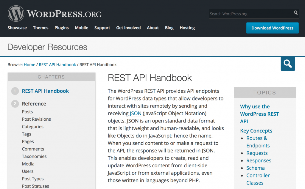 WordPress REST API пособие