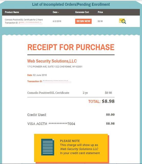 Купить ssl сертификат для сайта